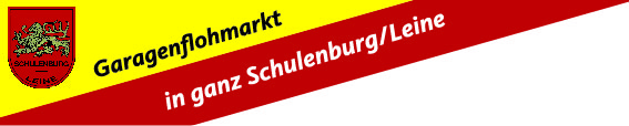 Garagenflohmarkt-Schulenburg